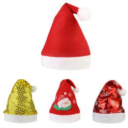 Adulto Albero di Natale Cappello Con Star novità divertente natalizio Party Costume Cappucci