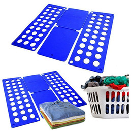 shirts folder Coupons - Quality Adult Magic Clothes Folder T Shirts Jumpers Organiser Fold Save Time Quick Clothes Folding Board Clothes Holder 3 Size