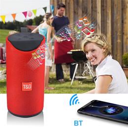 ipad handfree Promotion Haut-parleur portable Enceintes sans fil Bluetooth Subwoofers Profil de mains libres Profil d'appel Stéréo Basse Prise en charge TF Carte USB Connexion AUX Ligne Hi-Fi