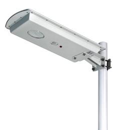 Canada 20W 40W panneau solaire LED rue lumière imperméable à l'eau en plein air led éclairage électronique gratuit électronique PIR Motion Sensor Auto On / Off au crépuscule et aube SMD3030 Offre