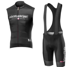 2020 ciclismo italia 2019 Pro Cycling Jersey 3d Gel Pad Bib Shorts Set hombres verano ciclismo Maillot Wear Team Tour de Italia ciclismo ropa Y041506 rebajas ciclismo italia