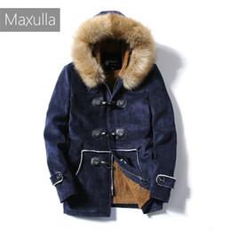 2020 casacos de pele punk coat Mens Inverno quente casacos grossos Suede Jacket Men Fur velo Punk motocicleta Coats roupa desconto casacos de pele punk