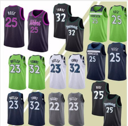 Rose Towns Wiggins High-quality 25 Derrick jerseys 32 Karl-Anthony 22  Andrew jersey 2019 new 100% Stitched 01 dc7090089