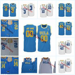 Camiseta de baloncesto ucla online-Encargo para hombre de la NCAA UCLA Bruins Jersey de la universidad de baloncesto Aaron vacaciones Jaylen Manos Kris Wilkes Thomas Welsh Jacob Foster, UCLA Bruins jerseys