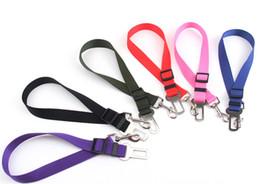 clip di sicurezza Sconti Veicolo Car Pet Dog Belt Cintura Car Seatbelt Harness Lead Clip Pet Dog Supplies Leva di sicurezza Prodotti di trazione automatica