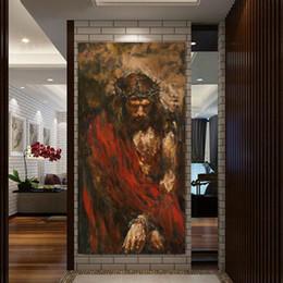 Pintura a óleo christ on-line-Ecce homo por Anatoly Shumkin HD Imprimir Pintura Jesus Cristo a óleo sobre tela de arte de impressão casa decoração da parede da lona de arte pintura retrato SH190919