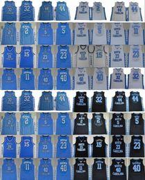 tacones de alquitrán Rebajas NCAA North Carolina Tar Heels camiseta de baloncesto de la universidad Michael Nassir Little Vince Carter Luke Maye Berry Barnes Paige UNC cosido uniforme
