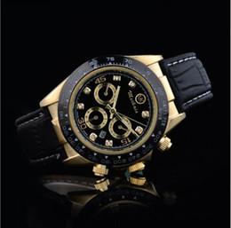 2019 relojes de lujo suizo ejercito Rolex masculino relojes para hombre Diseñador de lujo vestido Negro Dial Calendario Pulsera de oro Broche plegable Maestro Hombre 2019 regalos parejas