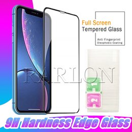 protector iphone 6s Coupons - New Full Glue Screen Protector Tempered Glass Anti Impact Full Coverage Anti Shatter 9H Hardness for iPhone 11 Pro Max XR XS MAX X 8 7 6S