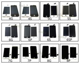 schermo dell'acciaio a galassia Sconti Applicabile per iPhone 6 / 6S / 7 / 8p assemblaggio dello schermo per originale display del cellulare iphone XS LCD touch LCD X all'ingrosso