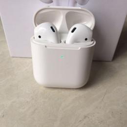 спортивный s9 bluetooth наушники микрофон Скидка Чип H1 Беспроводная зарядка Поколение 2 Bluetooth Наушники с автоматическим подключением Наушники с всплывающим окном pk airpods 2 i14 i12 i10 i9s i7 TWS