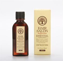 Nozes oleaginosas on-line-Hot LAIKOU Haircare 100% Puro 60 ml Óleo De Argan De Marrocos Óleo De Noz De Glicerol Óleo Essencial Do Cabelo Cabeleireiro Cuidados Com Os Cabelos Marroquinos