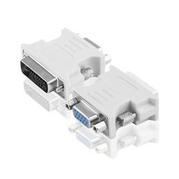 Modem DVI 24 + 5 Maschio / VGA femmina di alta qualità Adattatore DVI da HDMI a ATI DVI supplier ati dvi da ati dvi fornitori