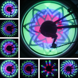 2019 rgb perlen Fahrradfelge Buntes LED-Licht 36 LED-Perlen RGB-Bild Veränderbare Nachtbeleuchtung Bike Bar Lampe Reifenbeleuchtung Sicherheit Angetrieben durch Batterie günstig rgb perlen