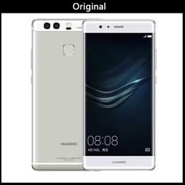 teléfonos dual sim huawei Rebajas Aire nuevo 100% original Huawei P9 3 GB / 4 GB de RAM 32GB / 64G ROM Octa núcleo Huawei teléfono Kirin 955 5,2 pulg Dual tarjetas SIM 12.0mp VS Huawei P10