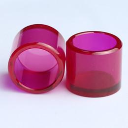 Rubinetti di ricambio con inserto rubino per 25mm 30mm da perline in pietra cubica fornitori