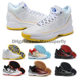 mens scarpe da basket d rose Sconti New D Rose 10 10S X MVP Derrick Rose Uomo Scarpe da pallacanestro Uomo Scarpe di alta qualità 10s Scarpe da ginnastica sportive scarpe firmate Taglia 40-46