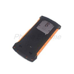 Doogee baterias on-line-Atacado S55 Tampa Da Bateria 100% Original de Alta Qualidade De Vidro de Volta Caso Bateria Para DOOGEE S55 Smartphone Frete Grátis