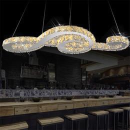 2019 lâmpadas penduradas de cristal Morden LEVOU pingente De Cristal luzes K9 Cristal nota da música Pendurado Luz pingente Lâmpada para Sala de estar Bar Café loja lâmpadas penduradas de cristal barato