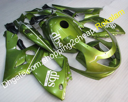 yamaha aftermarket Sconti 97-07 YZF600R Kit aftermarket Kit Abs ABS per Yamaha YZF-600R Thundercat 1997-2007 Fashion Green Motorcycle Fairing