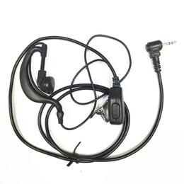 2019 radio t5 Auriculares finos para radios motorola TLKR T5 T7 T80 T5720 T5428 FR50 FR60 T5820 TC320 TC310 radio t5 baratos