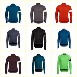 Monton radfahren trikots online-2019 RAPHA team Radfahren mit langen Ärmeln Trikot heißer Verkauf Top-Qualität Professionelle atmungsaktive Quick Dry Monton Ciclismo Sportbekleidung U80928