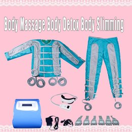 slimming machine lymph drainage Promo Codes - pressotherapy slimming Infrared sauna EMS Electric Muscle Stimulation Lymph Drainage Body machine pressotherapy massage equipment 4 in 1