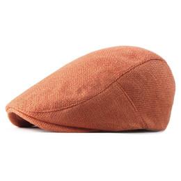 2019 Primavera Estate tinta unita berretto strillone uomo berretto a visiera piatta donne pittore cappelli berretto 21 da