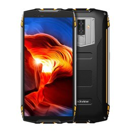 64gb mp3 player Promo Codes - IP68 IP69K 5m Waterproof Blackview BV6800 Pro 4G LTE 4GB 64GB Octa Core NFC Fingerprint Face ID Wireless Charge 6580mAh Rugged Smartphone