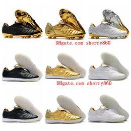 Tf zapatos de futbol online-Tacos de fútbol para hombre 2019 Tiempo Legend 7 R10 Elite FG Zapatillas de fútbol Legend VII IC TF Botas de fútbol para césped de interior Tacos de futbol