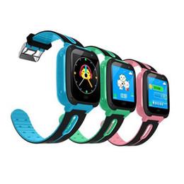 Meilleurs enfants montre intelligente en Ligne-Enfants Q9 Enfants Anti-Perdu Montres Intelligentes Smartwatch LBS Tracker Montre SOS Appel Pour Android IOS Meilleur Cadeau Pour Enfants DHL