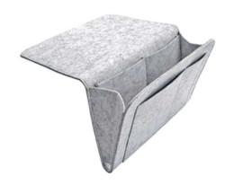 Filztablette online-Bed Storage Cockets Bedside Caddy Felt Bed Storage Organizer-Tasche mit 2 kleinen Taschen zum Organisieren von Tablet-Magazine-Handys