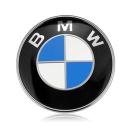 gama cromada Desconto Um crachá do emblema do tronco da capa de 82mm para BMW 528i 535i 740i 750i X4 2 pinos