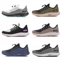 shield leather Coupons - 2019 New Zoom Pegasus 35 Shield utility Reflective Turbo Mens Runing Shoes Marathon 35s Sports Women Sneakers for Men Trainers Size 36-45