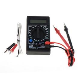 DT-838 Multímetro digital Volt / Amp / Ohm / Medidor de temperatura Probador de voltaje del vehículo Herramientas Herramienta de medición Drop ship desde fabricantes
