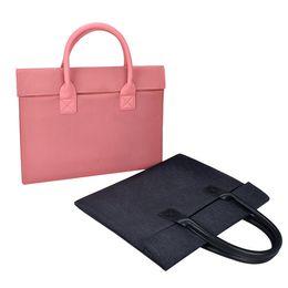 maçã macbook pro china Desconto Fino e elegante e minimalista bolsa para laptop saco do forro do saco para apple macbook Huawei pro 15.6 polegadas LOGOTIPO personalizado