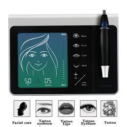 Machine à lèvres de puissance en Ligne-Kit de stylo de maquillage permanent Princesse Made-ln-Germany sourcil pour les lèvres et les yeux, avec bloc d'alimentation pour aiguille