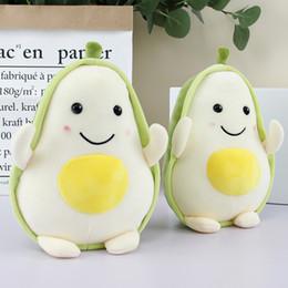 cojín kawaii Rebajas Frutas Juguetes de plantas de felpa Kawaii Cartoon Cute Stuffed Doll Cojín de aguacate Niños Niñas Anti Stress Cojín Almohada Para niños juguetes
