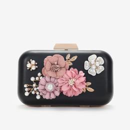 Piccolo sacchetto di spalla del fiore online-Decent2019 Dinner Flower Banquet Bride Full Hand Hand Take Cheongsam Single Shoulder Package Small Bag
