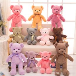 """Brinquedos de pelúcia bebê ursos de pelúcia on-line-Teddy Bears Bebê Brinquedos De Pelúcia Presentes 12 """"Animais De Pelúcia Urso De Pelúcia Macia Bonecos De Pelúcia Crianças Pequenas Ursos De Pelúcia crianças brinquedos"""