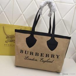 high-end damen handtaschen Rabatt Mode neue High-End-Luxus Dame Alphabet Handtasche, einfache Mode Designer Tasche, große Kapazität braun Anzahl: 8302