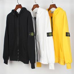 Gelenler Korku Tanrı Fleece Kapüşonlular Erkek Giyim Uzun Kollu Kazak Kanye West Taş IsIand fermuar hırka kapüşonlu kazak X136 Tops nereden korean kolej ceketi tedarikçiler