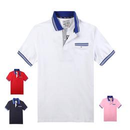 Meilleurs chemises de marque hommes en Ligne-Polo en coton Eden Park best-seller 2019 pour nouveau couple d'hommes pour broderie décontractée de marque française M L XL XXL XXXL2