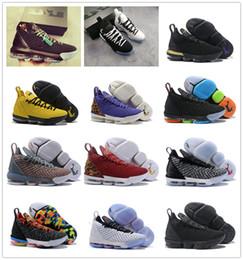 hot sale online 08237 dfa8b lbj shoes Rabatt Hohe Qualität lebron 16 Uhr The Throne Mens Sportschuhe LBJ  KC EP für