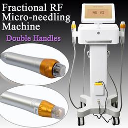 оборудование для салонов красоты Microneedle Fractional RF Machine Thermage фракционный рф Лицевая коррекция глаз Устройство для удаления морщин от Поставщики тепловое устройство красоты