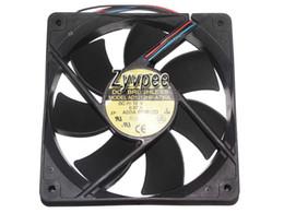 Original ADDA AD1212LB-A7BGL 12V 0.24A 12025 12CM Ball 4-wire Cooling Fan