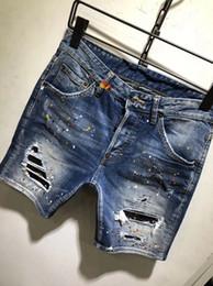 джинсовые брюки Скидка Летние мужские дизайнерские джинсы Одежда Купальники повседневные мужские джинсы Мужские пляжные шорты Плавать мужские дизайнерские джинсы