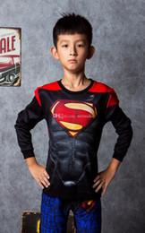 estilos de camisa Desconto 2019 5 tipos de super-herói impresso personagens do filme de animação da Marvel de manga comprida de algodão T-shirt sportswear primavera e outono estilo