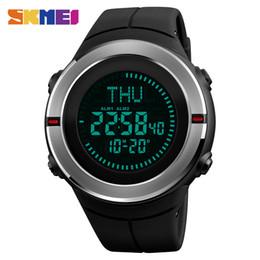2019 будильник обратного отсчета часов SKMEI Outdoor Sport Digital Men Watch Water Resistant Countdown World Time Wristwatches Summer Time Alarm Calendar Relogio Hot дешево будильник обратного отсчета часов