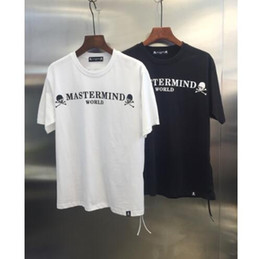 Grandes camisetas online-2019 Summer Style Mastermind Japan Classic Logo impreso mujeres hombres Big Skull T shirts tees Hiphop hombres algodón camiseta de manga corta